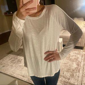 American Eagle Soft & Sexy Slub Long Sleeve Shirt